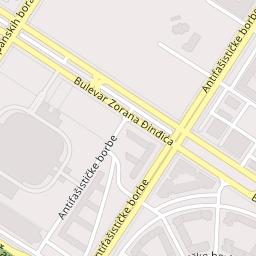 bulevar zorana djindjica beograd mapa UNIQA osiguranje, Bulevar Zorana Đinđića 57 /B 7/lokal 19, Beograd  bulevar zorana djindjica beograd mapa