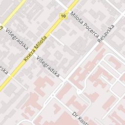 visegradska ulica beograd mapa Cotrugli Business School, Višegradska 27, Beograd (Savski Venac  visegradska ulica beograd mapa